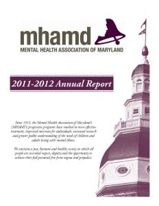 2011-12 Annual Report Cover