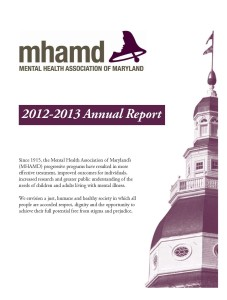 2012-13 Annual Report Cover