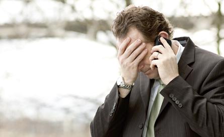 Man seeking crisis services