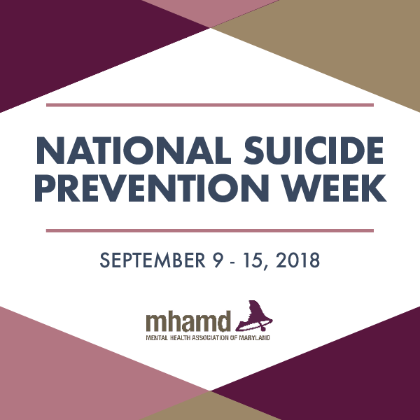 Suicide Awareness Is A Major Theme In September We Recognize National Prevention Week All This As Focus On Important Topic